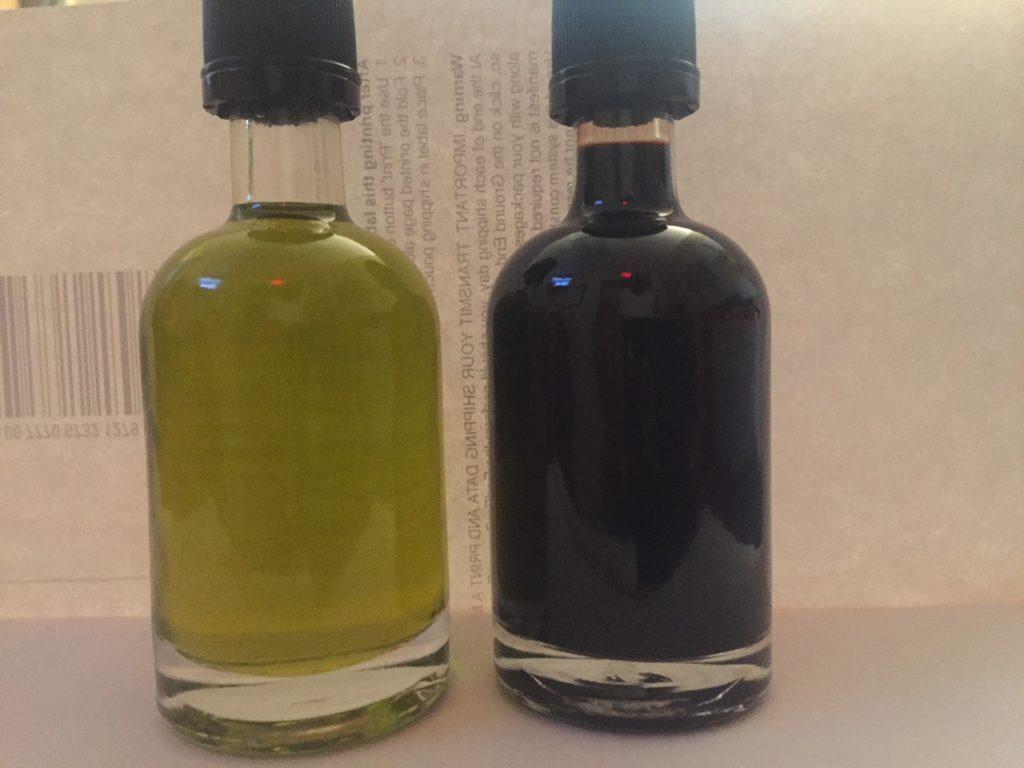 Bulk olive oil and vinegar jugs