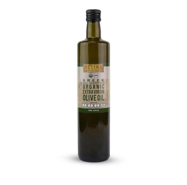 Melina Extra Virgin Olive Oil bottle