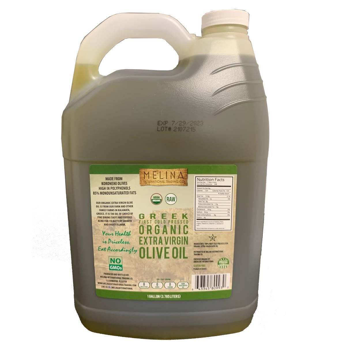 melina international company olive oil 1 gallon