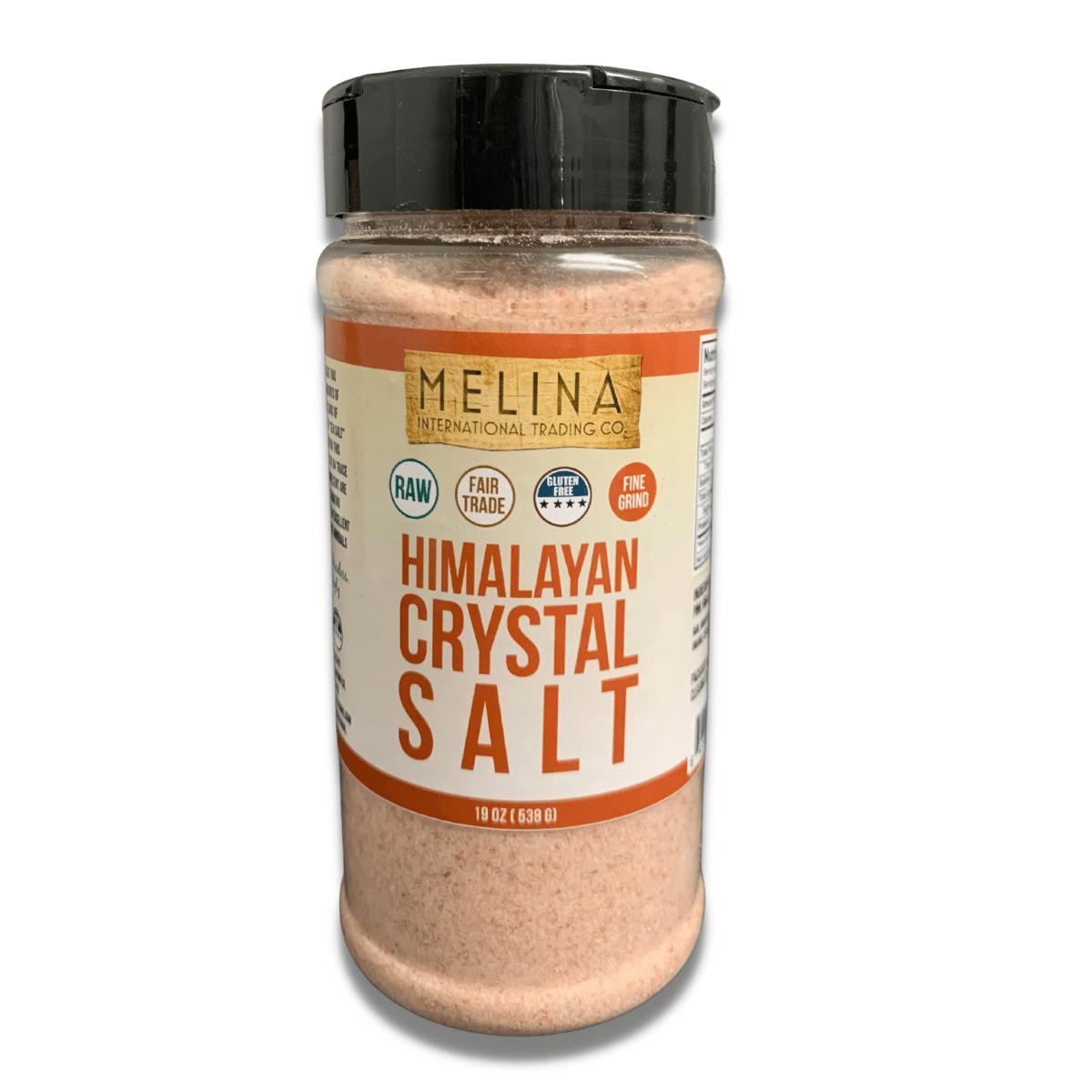 melina international himalayan crystal salt 19 oz